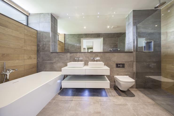 Wick Lane, Christchurch By Jigsaw Interior Design Jigsaw Interior Architecture Modern bathroom Beige