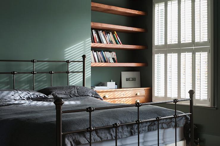 Chambre à coucher de style éclectique