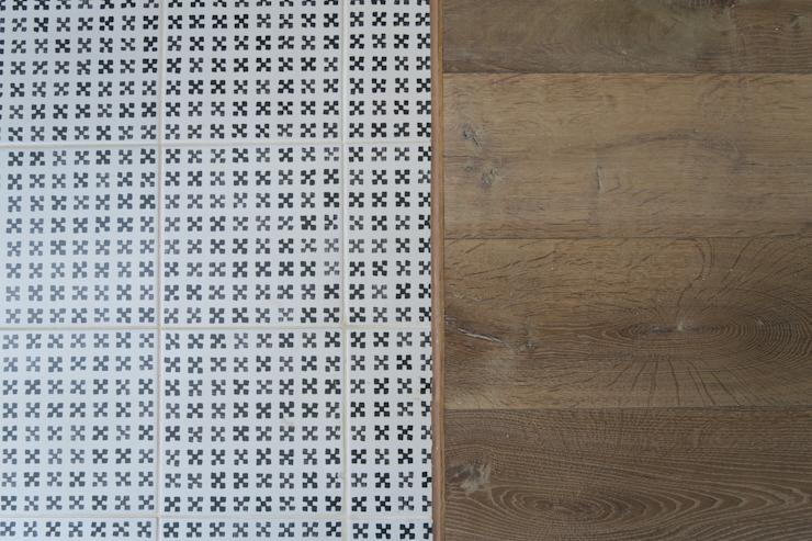 Carreaux de cuisine A2studio Murs et sols de style scandinave Blanc