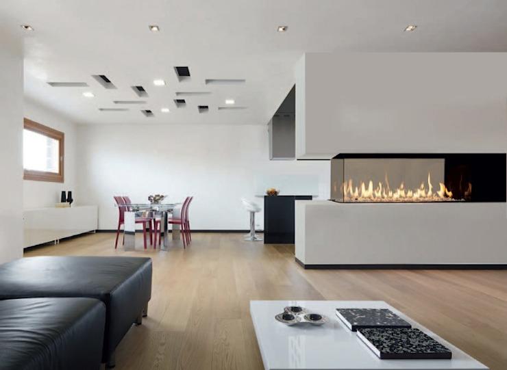 M-Design Séparateur de pièce Anglia Fireplaces & Design Ltd SalonFoyers et accessoires