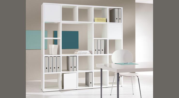 BOON - Cube Storage Units Regalraum UK Étude moderne/bureau blanc