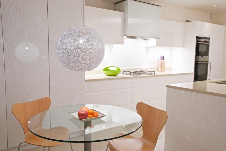 Rita 400 lampe à suspension - cuisine .. KitchenLighting Métal Blanc