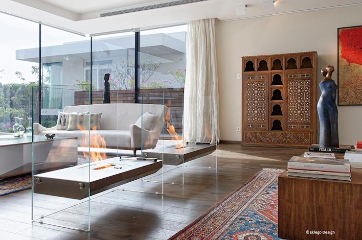 Réception / Salon Jam Space Ltd Salon de style éclectique