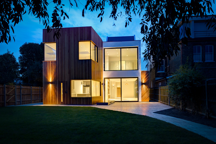 Résidentiel MZO TARR Architectes Maisons modernes
