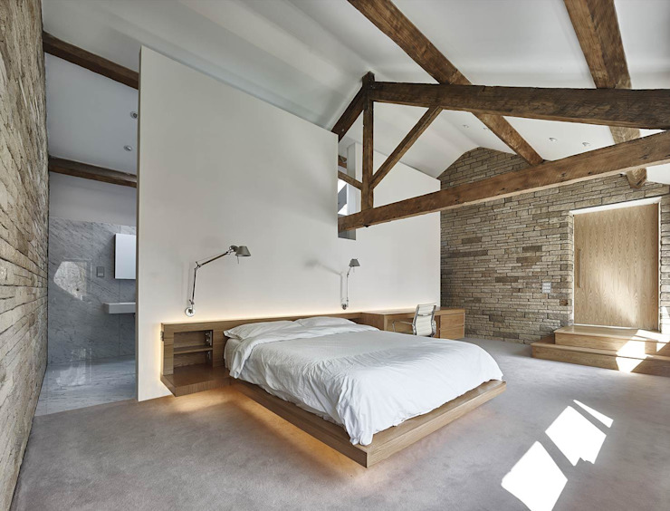 Maison 141 Andrew Wallace Architects Chambre à coucher minimaliste