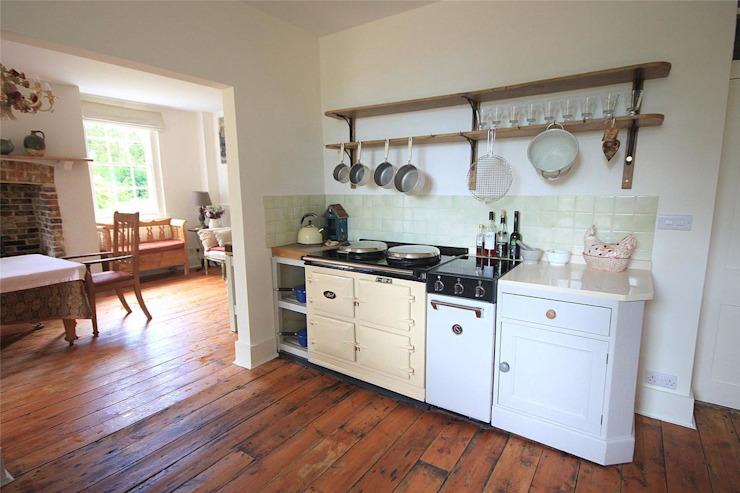 Maison de campagne à Tenterden Bandon Interior Design Cuisine de style champêtre