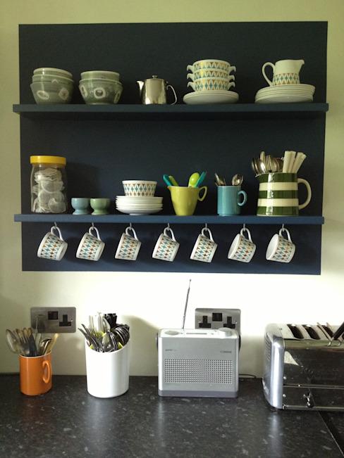 étagères flottantes à barrettes - étagères étroites à barrettes simples Stockage domestique