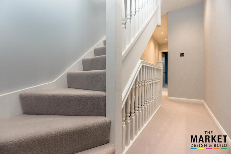 Twickenham Extension, conversion de grenier et rénovation The Market Design & Build Escaliers