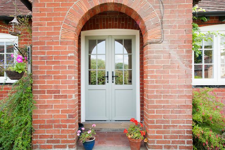 Réintégrer le caractère et le charme d'une maison Portes et fenêtres modernes