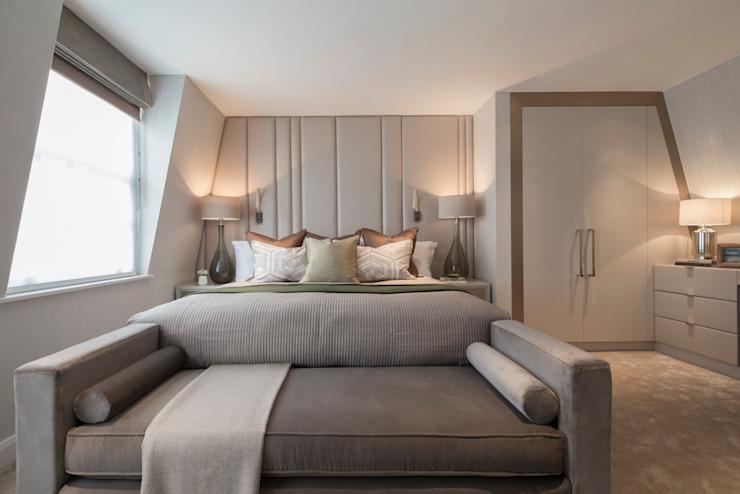 Eaton Mews North - Chambre à coucher principale Roselind Wilson Design Petite chambre à coucher