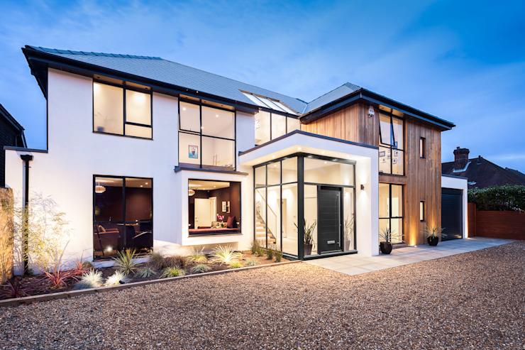 OATLANDS DRIVE Concept Eight Architects Maisons modernes