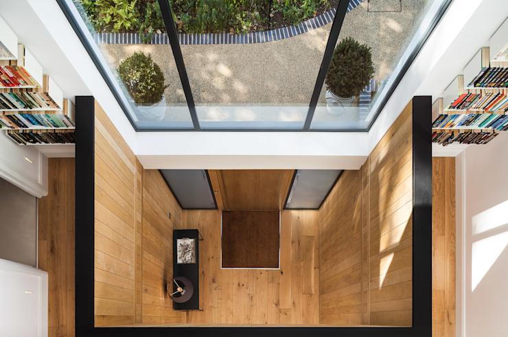 Boyle Farm Concept Eight Architects Couloir, couloir et escaliers de style scandinave.