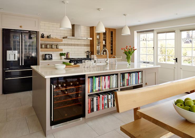Cuisine shaker par Harvey Jones Harvey Jones Kitchens Cuisine de style classique