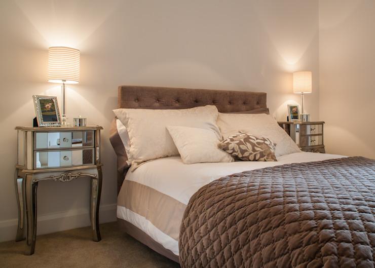 Appartement témoin à Ascot, Royaume-Uni Lujansphotography Chambre à coucher de style moderne