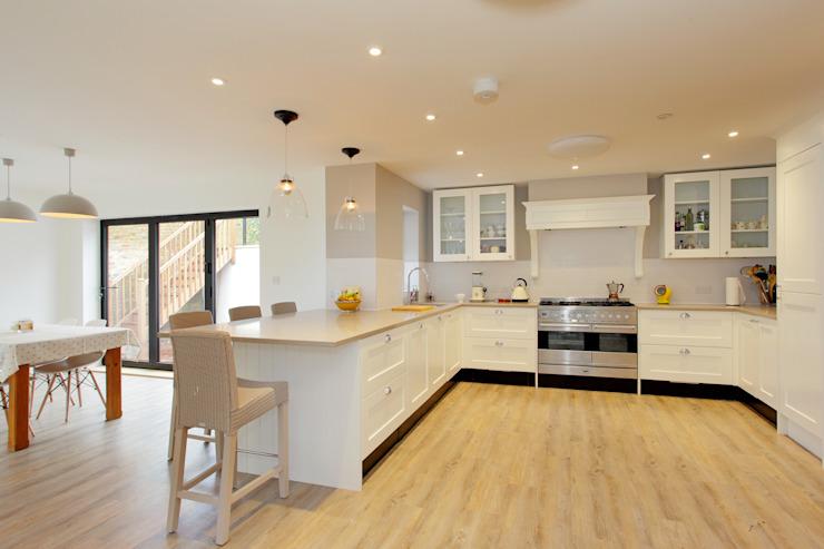 Wickham House C7 architectes Cuisine moderne