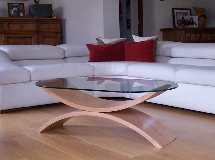 Table basse Reflections en cerisier homify SalonTables d'appoint et plateaux
