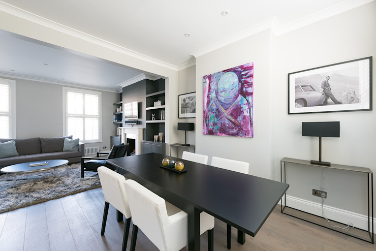 Disraeli Road, Putney Grand Design London Ltd Salle à manger moderne