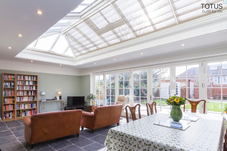 Extension et transformation de maison, Wandsworth SW18 TOTUS Salle à manger de style rustique