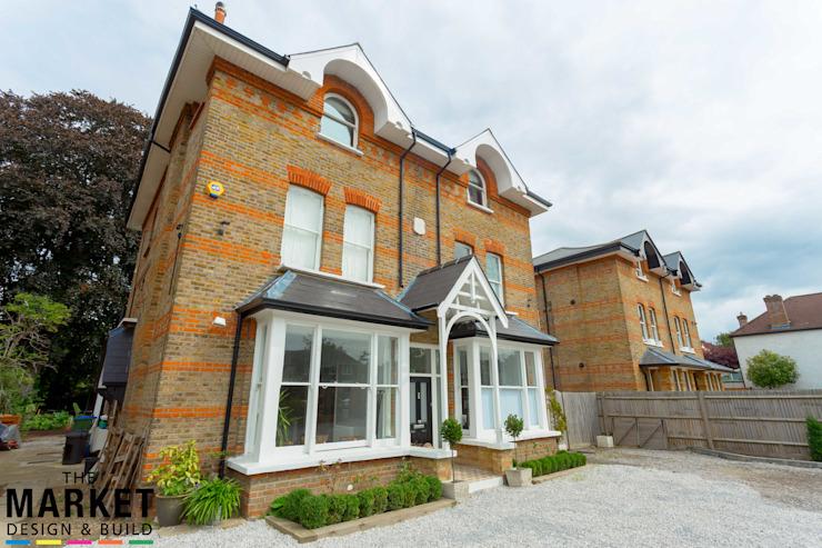 Teddington Extension et rénovation Le marché Conception et construction de maisons modernes