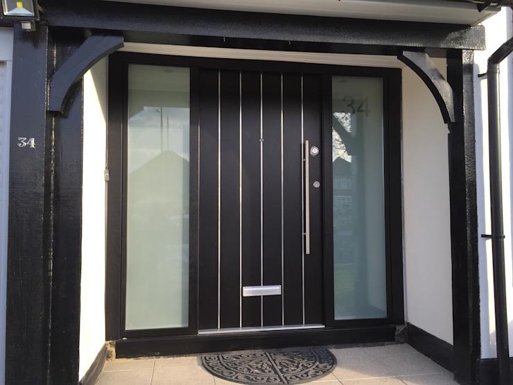 Portes de sécurité Horrow Stronghold Portes et fenêtres modernes
