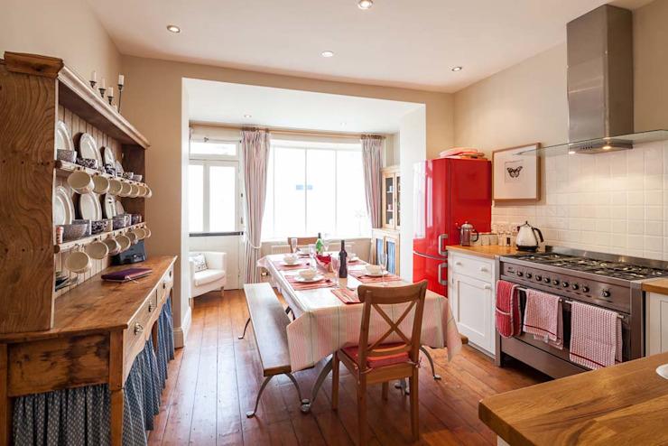 Maison de vacances indépendante Derek Phillips Photography Cuisine de style rustique