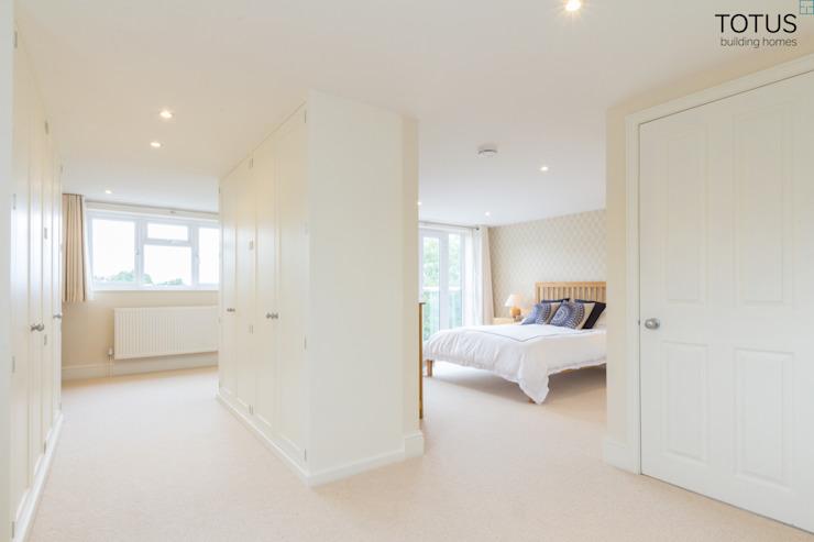 Conversion de grenier, Sheen SW14 TOTUS Chambre à coucher de style moderne