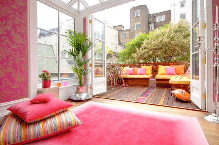 homify Balcon, véranda et terrasse de style classique