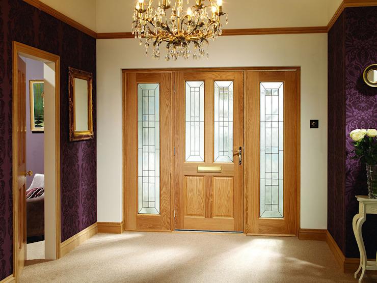 Ensemble de portes à double panneau latéral Malton Diamond Modern Doors Ltd Portes et fenêtres Portes et fenêtres