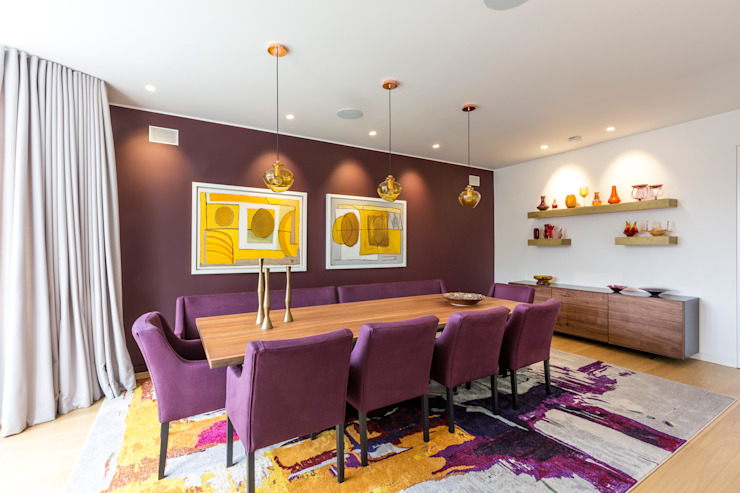 Salle à manger Studio Mark Ruthven Salle à manger moderne
