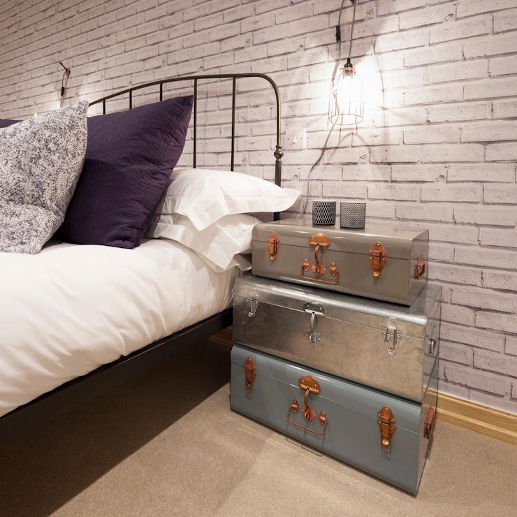 The Cotton Exchange - Bedroom Jigsaw Architecture intérieure Chambre à coucherAccessoires et décoration