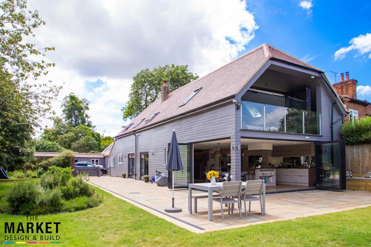 Extérieur époustouflant Le marché Design & Build Maisons modernes