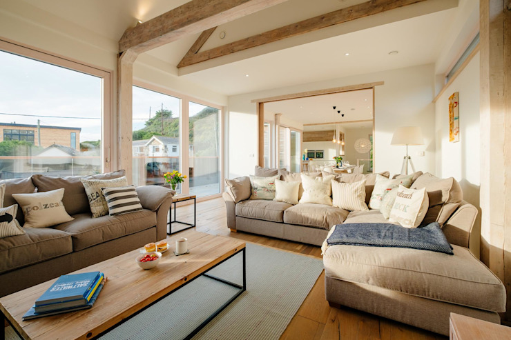 Treasure House, Polzeath | Cornwall Perfect Stays Salon de style rustique