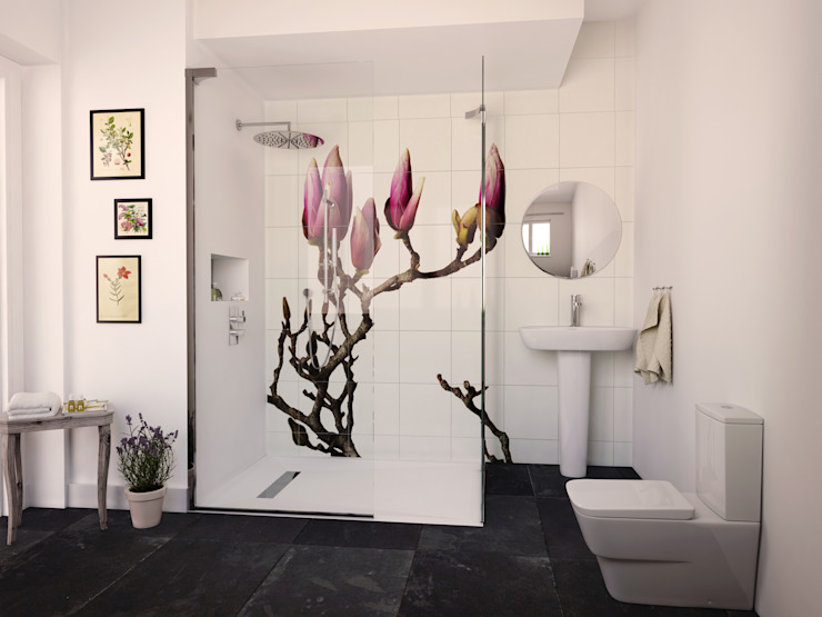 Salle de bains botanique de Bathrooms.ccom Salle de bains.com Baignoires et douches
