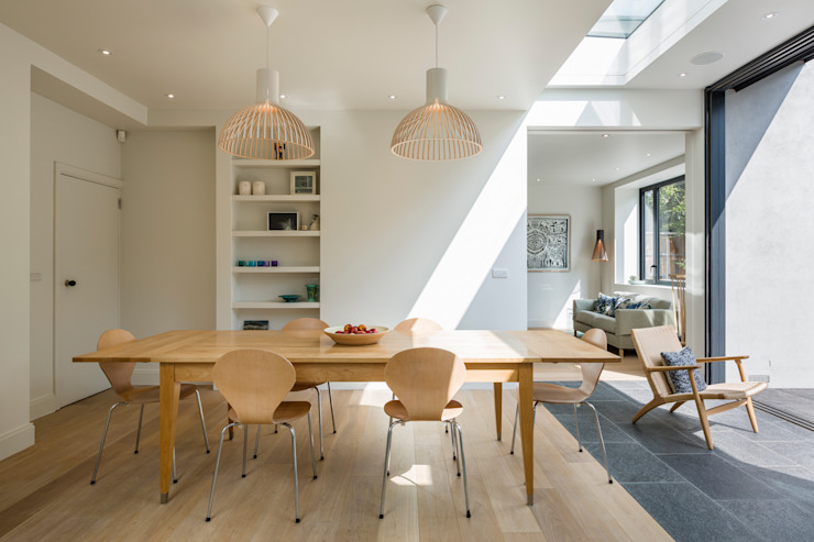 Muswell Hill House 1, Londres N10 Jones Associates Architects Salle à manger moderne