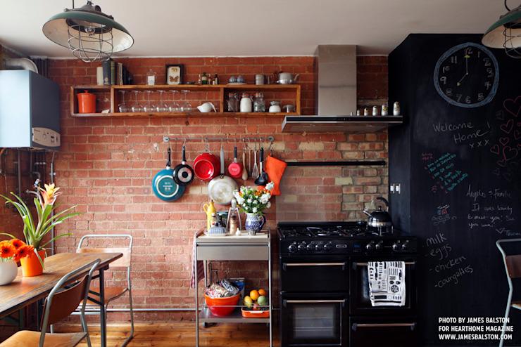 Dîner Cassidy Hughes Design d'intérieur Cuisine de style industriel