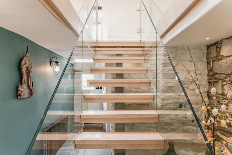 Rénovation d'un bâtiment classé primé Espace de vie Architectes Escaliers