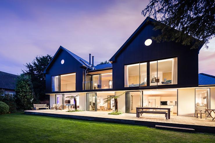 Boyle Farm Concept Eight Architects Balcon, véranda et terrasse modernes