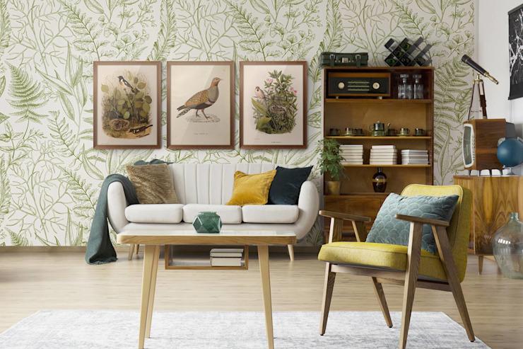 BOTANICAL RETRO Pixers Salon de style classique