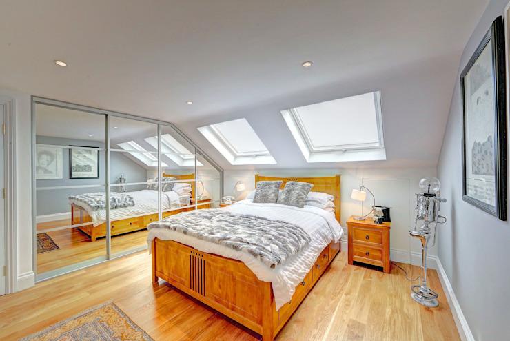 conversion de grenier mansardé wandsworth homify Chambre à coucher de style moderne