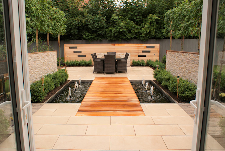 Conception de jardin - Cheshire Hannah Collins Garden Design Jardin moderne