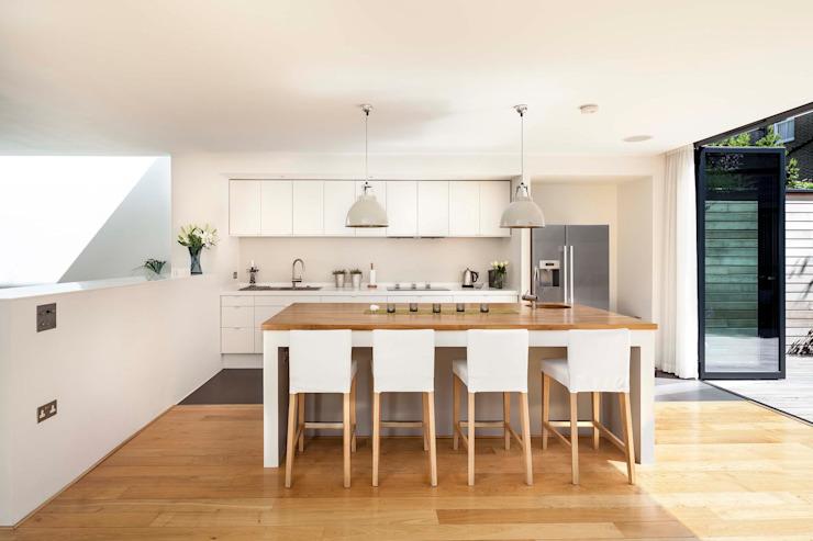 Courtyard House - East Dulwich Designcubed Cuisine moderne