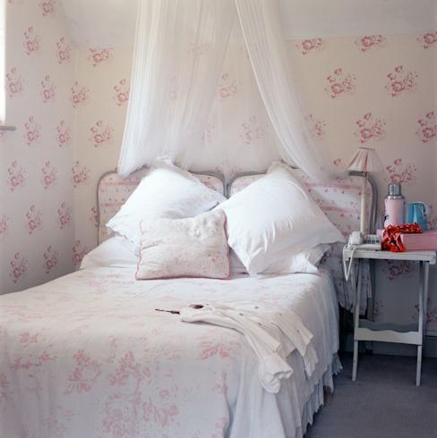 Chambre à coucher Choux et Roses