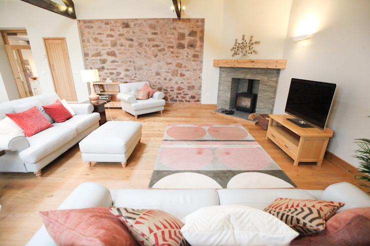 Living Area homify Salon moderne