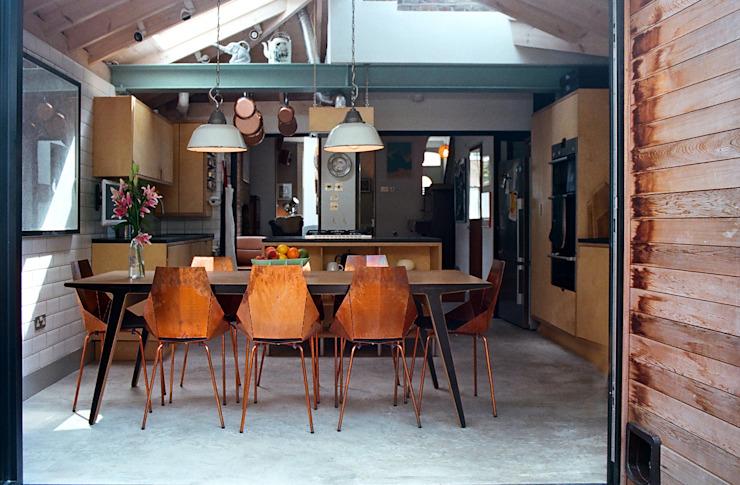 Cuisine/salle à manger homify Cuisine moderne