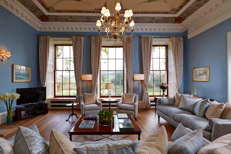 Maison de campagne géorgienne Etons of Bath Salon de style classique