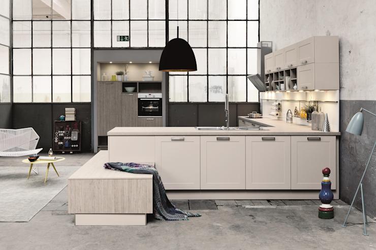 Conception de cuisine d'entrepôt LWK London Kitchens Cuisine de style industriel